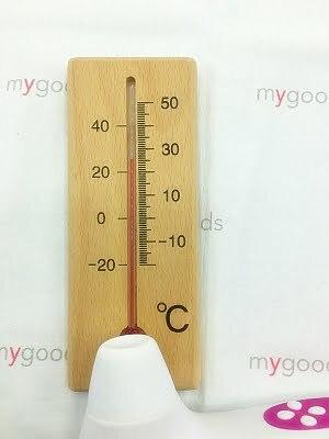 クリ吸引口の温度計測
